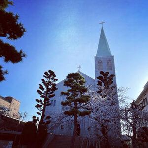 カトリック芦屋教会外観